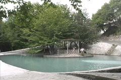 Azerbaijan Pond in park Stock Footage