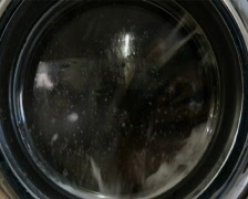 clothes in the washer - stock footage
