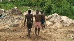 Stock Video Footage of Malawi: african boys show 3