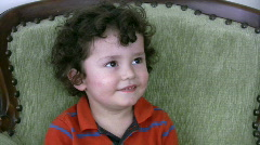 Little Boy And Candy   Full HD 1080p Stock Footage