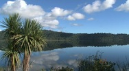 Lake lanthe, New-Zealand Stock Footage