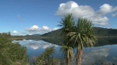 Lake lanthe, New-Zealand Stock Footage