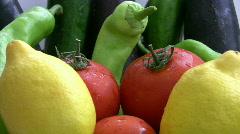 Fresh Vegatables   Full HD 1080p Stock Footage