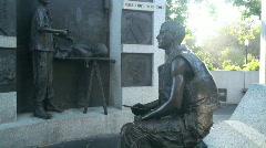 California, Vietnam War Memorial Stock Footage