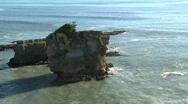 Pancake rocks, New-Zealand Stock Footage