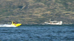 Queenstown, New-Zealand - stock footage
