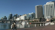 Stock Video Footage of Sydney downtown