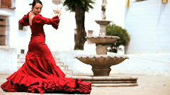 Traditional Spanish Flamenco  Stock Footage