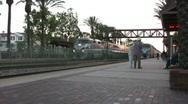 Stock Video Footage of Fullerton Amtrak Station