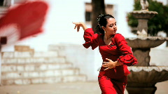 Traditional Flamenco Dancers Stock Footage