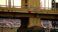PNC Park Establishing Shot Stock Footage