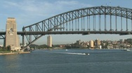 Stock Video Footage of Sydney, harbor bridge