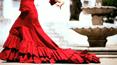 Flamenco Dancing Stock Footage