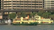 Stock Video Footage of Sydney ferries