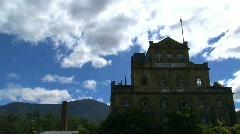 Hobert capital Tasmania Stock Footage