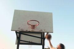 Basketball hoop series V4 - NTSC Stock Footage