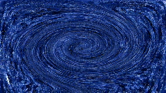 Textured whirlpool in blue, HD - stock footage