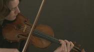 Violin Player Stock Footage
