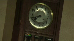 Grandfather Clocks Stock Footage