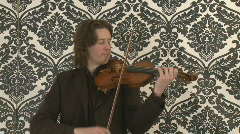 Violin Player - stock footage