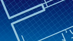 Stock Video Footage of blueprint