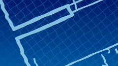 Blueprint Stock Footage