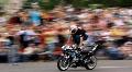 Motorbike show HD Footage
