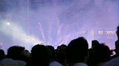 Jm1026-Outside Crowd Stock Footage