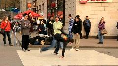 Break dancers Stock Footage