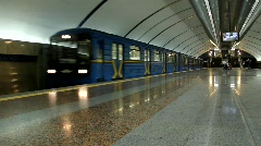 Underground Stock Footage