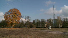 Sobibor sign 1 Stock Footage