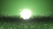 Crossing light explosion Stock Footage