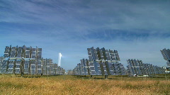 Environmental Solar Power - stock footage