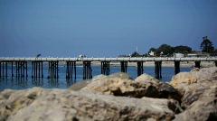 Malibu Pier 01 HD Stock Footage