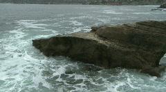 Waves Crashing on Rocks 05 Stock Footage