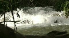 Hasbani river 3 Stock Footage