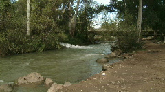 Hasbani river 4 Stock Footage