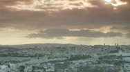Jerusalem timelapse sunset Stock Footage