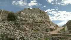 Namrud castle 1 Stock Footage
