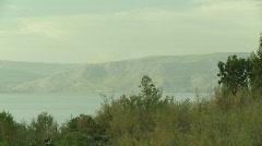 Sea of galile orthodox 2 Stock Footage