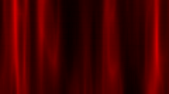 red silk abstract background - stock footage