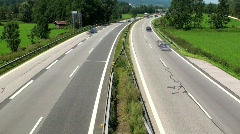 Traffic on Highway Stock Footage