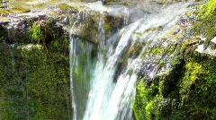 Waterfall, Powerful Stream - stock footage