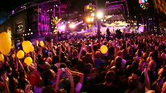 Jm1040-Street Concert Stock Footage