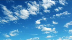 loop of clouds. - stock footage