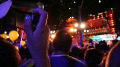Jm1043-Crowd Camera Stock Footage