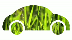 Car spring grass V1 - HD Stock Footage