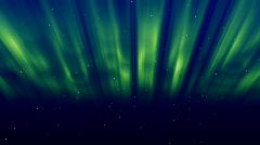 Aurora green Stock Footage