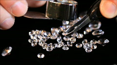 Closeup jeweler Stock Footage