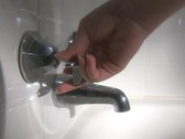 Stock Video Footage of Bathtub Faucet